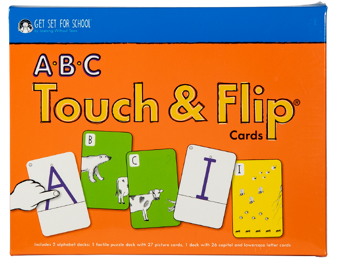 ABC touch and flip cards