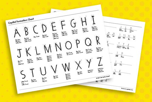 HWT letter formation