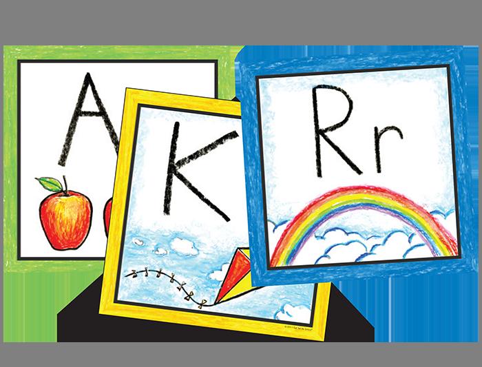 Pre-K Color Wall Cards