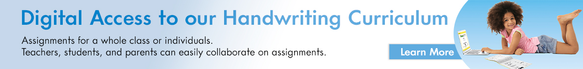 Integrated Print + Digital Solution for Handwriting