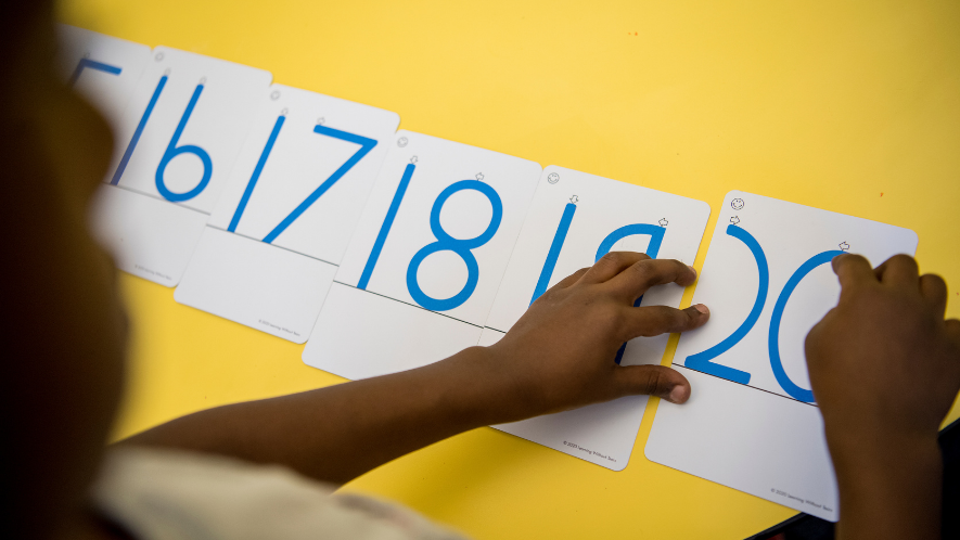 how to teach numbers