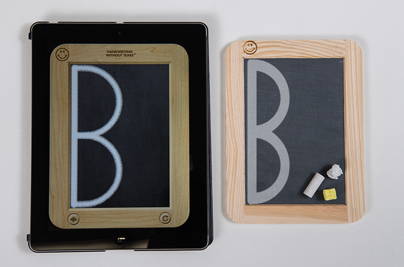 Wet Dry Try can be completed on either a slate chalkboard or through our new iPad app. But which one is right for you?