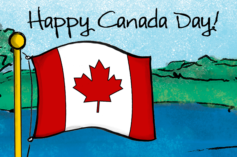canada day blog header