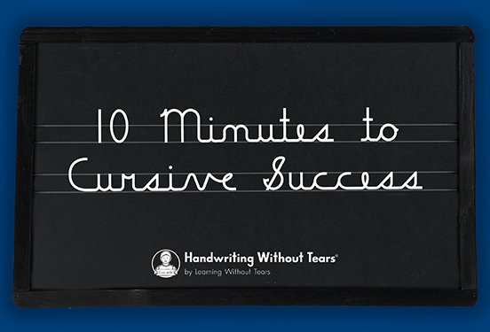 Cursive Success Webinar