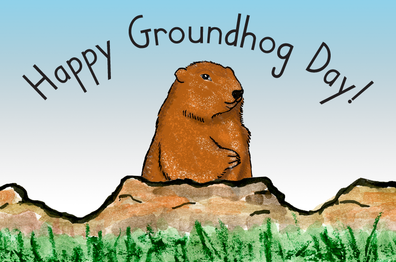 Groundhog and Hedgehog day