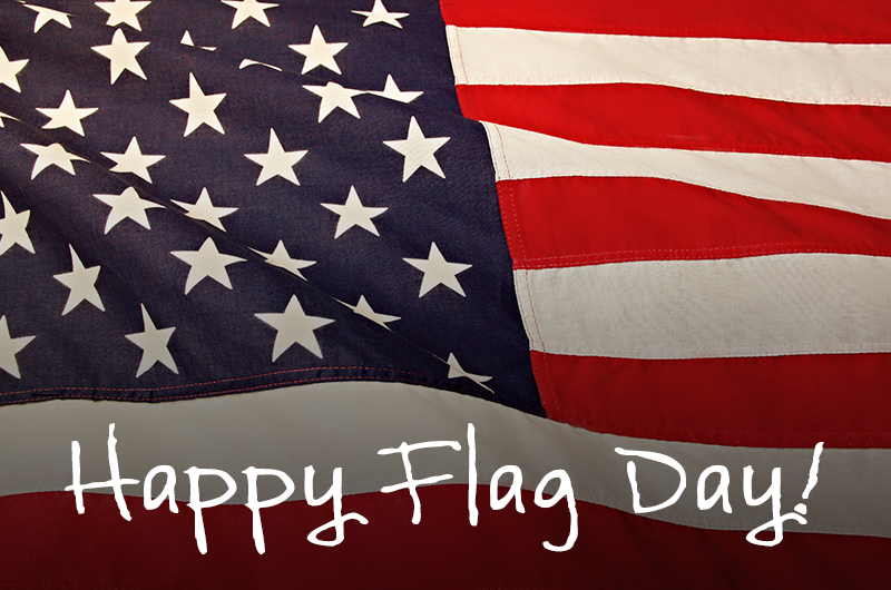 Flag day blog header
