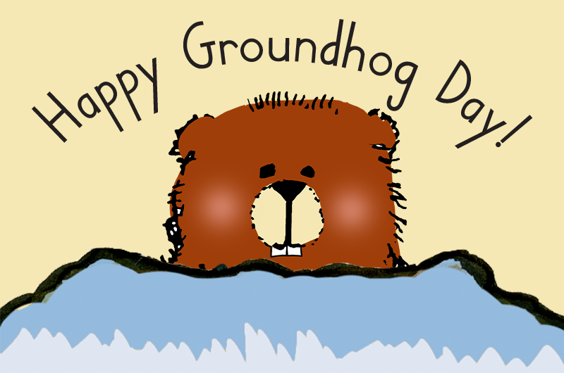 Groundhog Day blog header