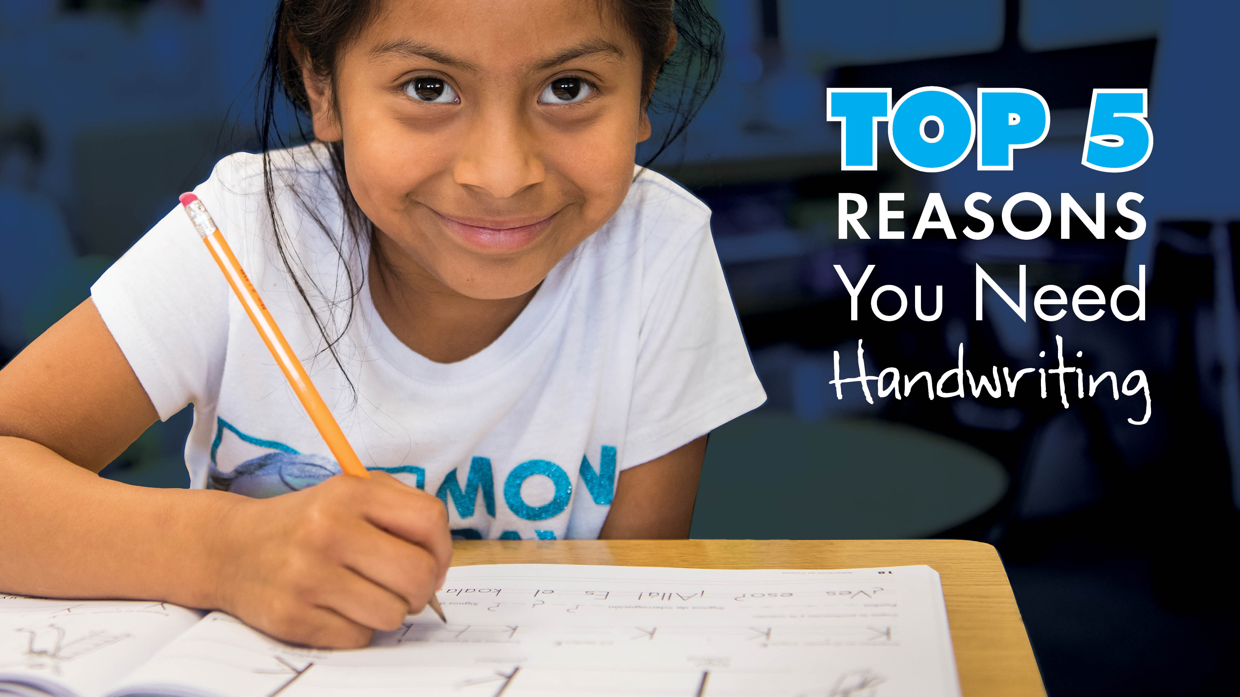 5 Reasons You Need Handwriting