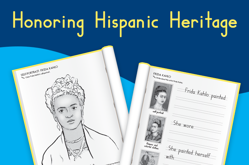 Take time to celebrate Hispanic Heritage in your classroom.