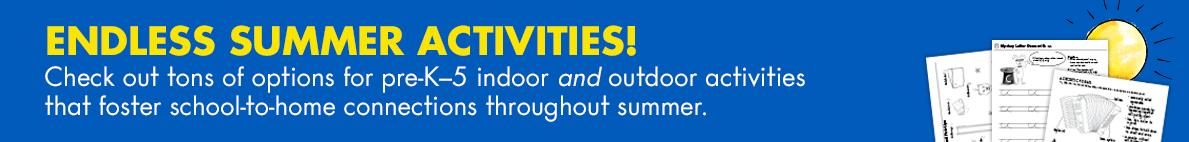 June summer activities