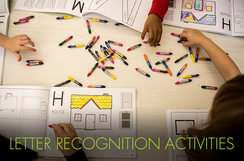 letter recognition activities for preschoolers