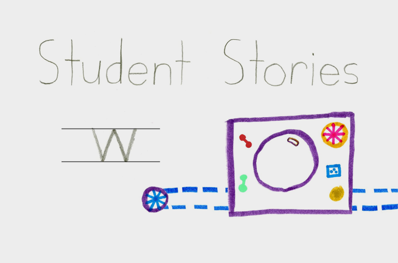 Student Letter Stories blog header