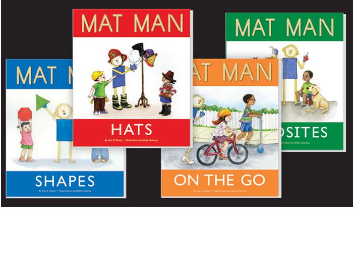 Mat Man book set