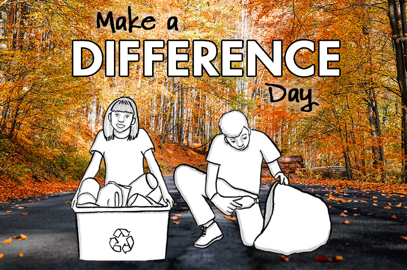 Make a difference day blog header