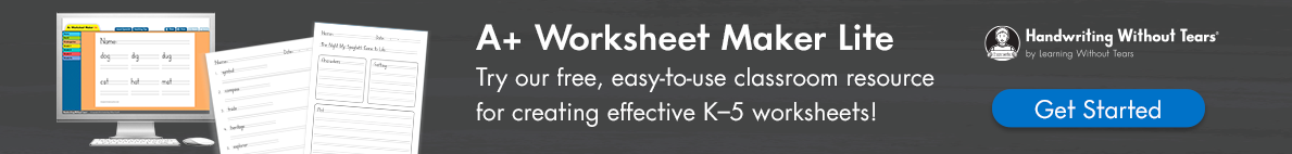 A+ worksheet maker blogad