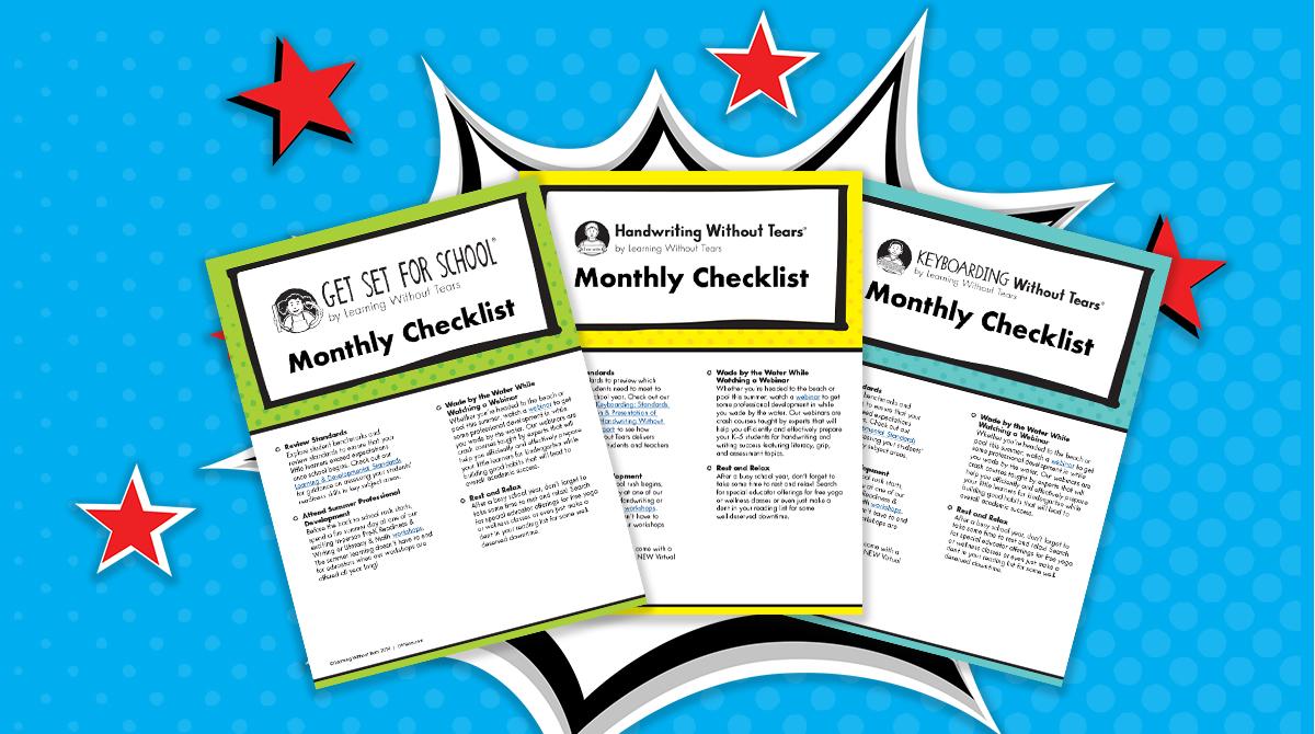 monthly checklist