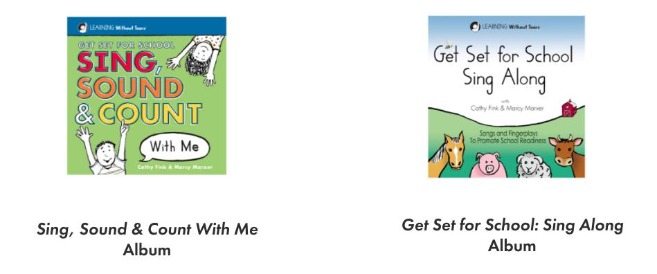 Preschool Music CDs