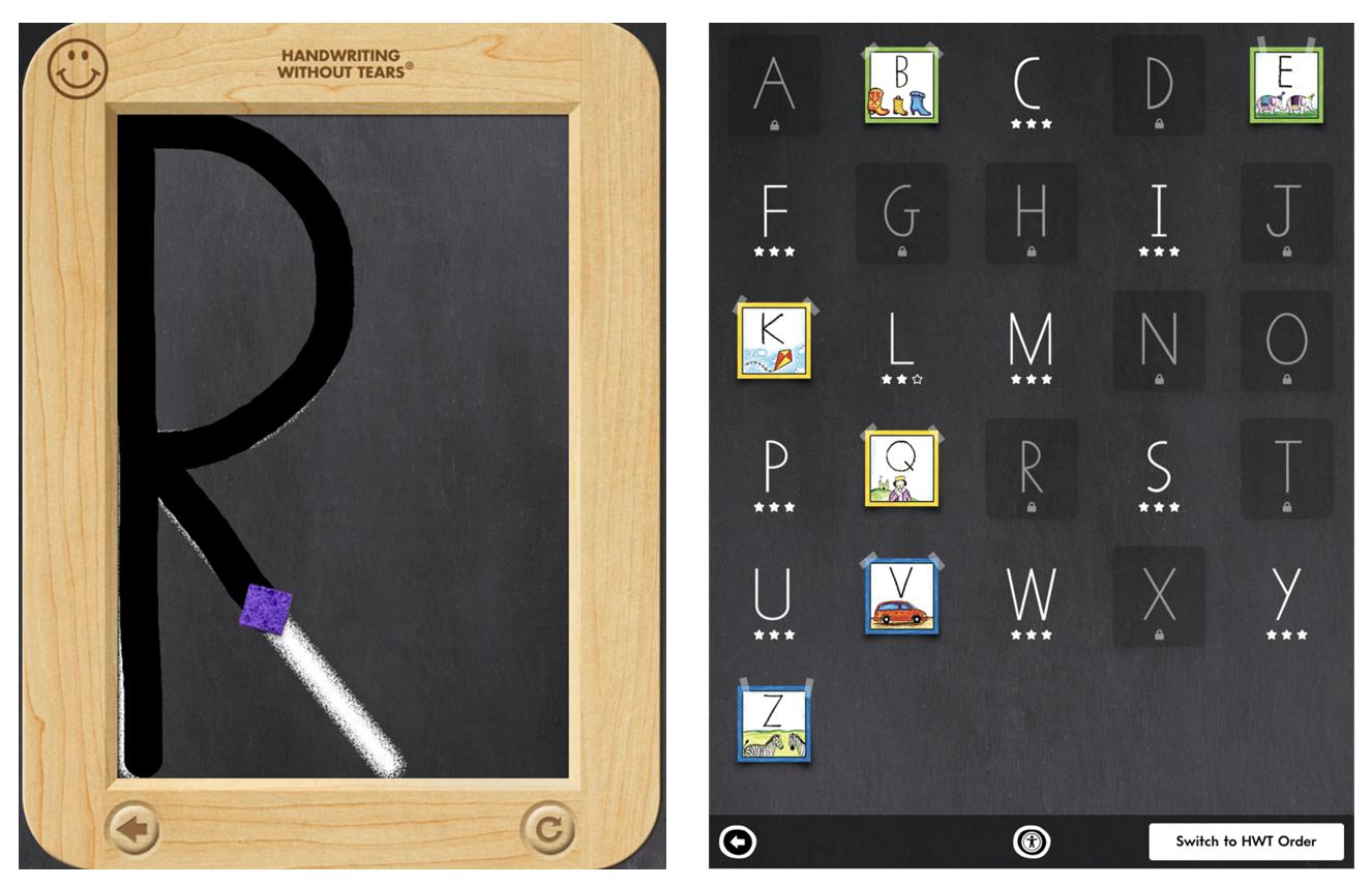 Wet Dry Try app for iPad