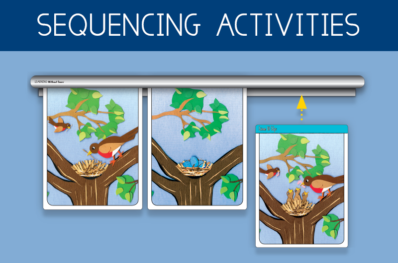sequencing activities for kindergarten