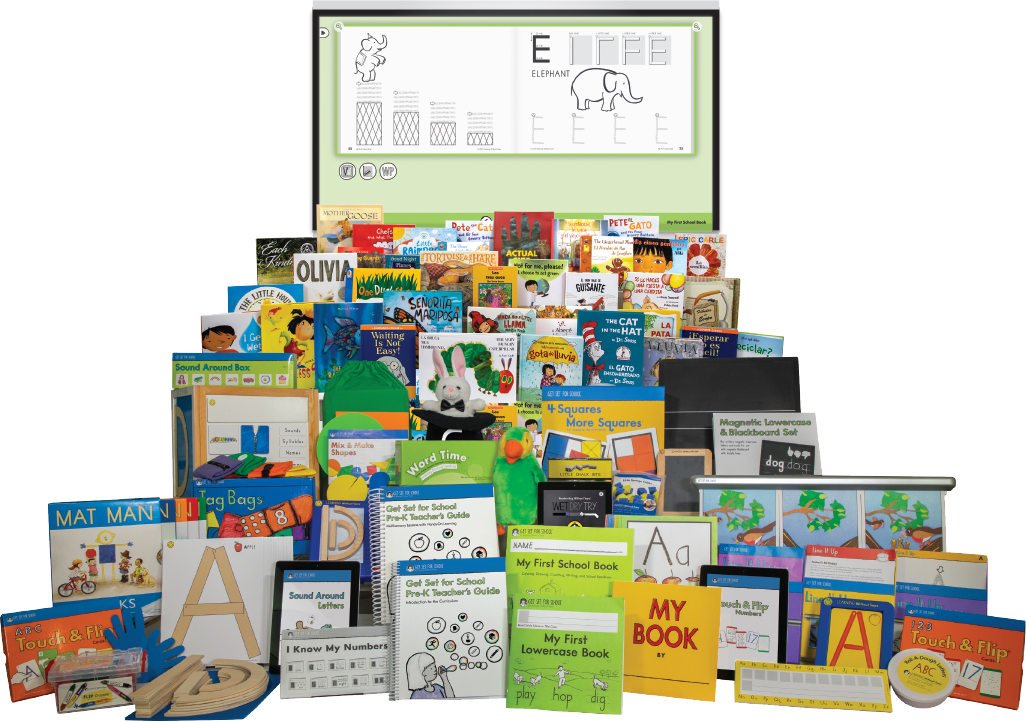 Get Set for School Complete Pre-K Curriculum Set