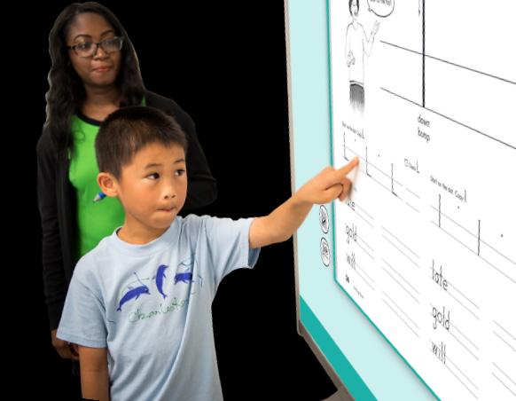 Handwriting Interactive Teaching Tool on Whiteboard
