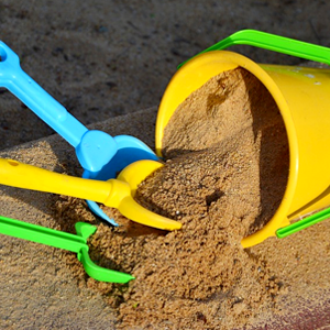 summer activity sand