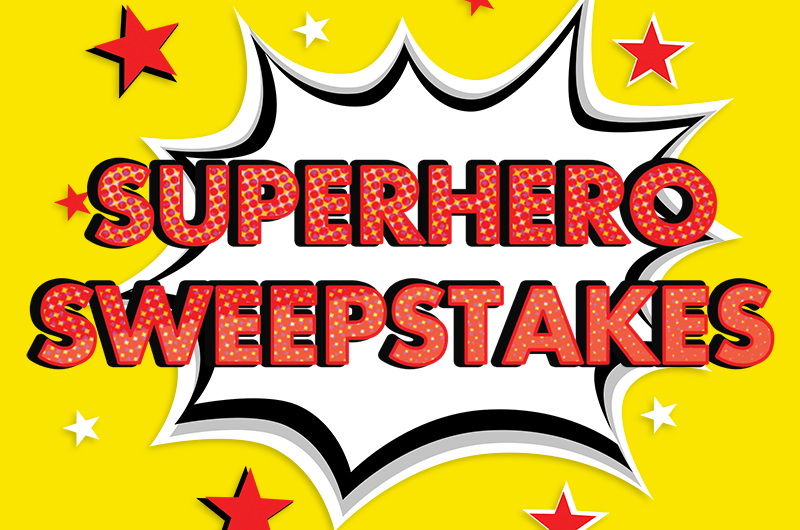 Superhero blog header