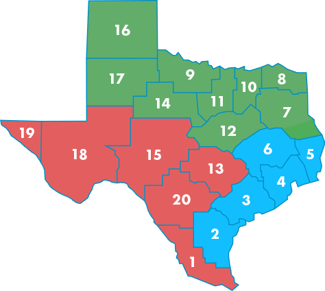 TX ESC Map Large