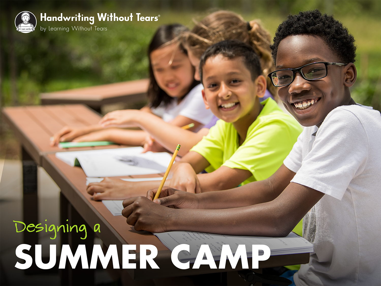Summer camp webinar resource graphic