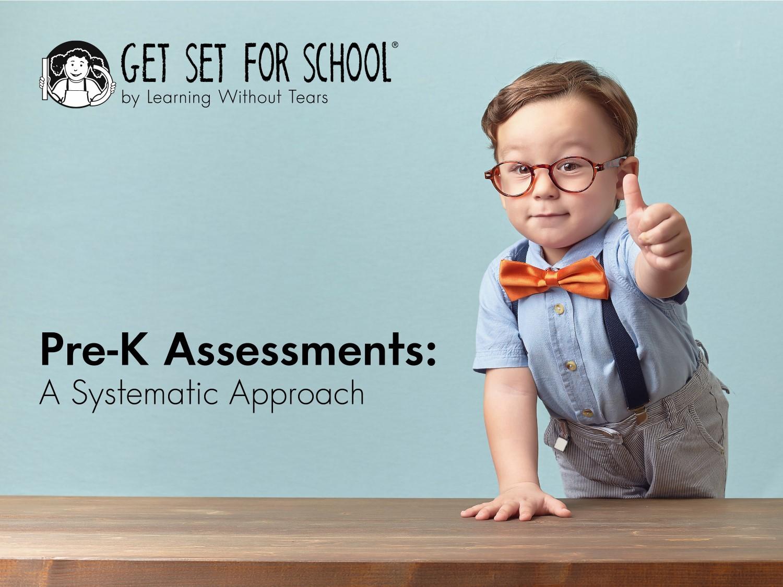 Pre-K assessment webinar