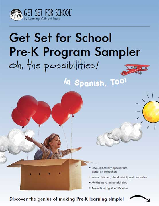 Get Set for School Pre-K Program Sampler