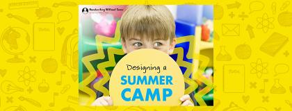 Summer camp tile