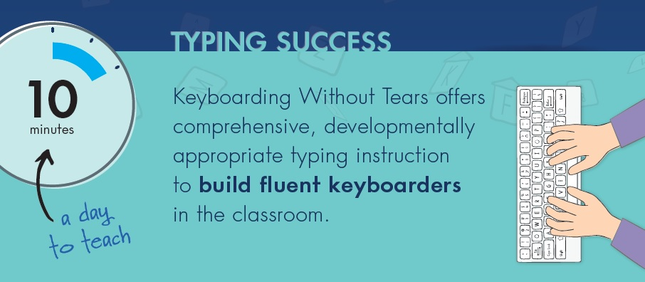 typing success infographic